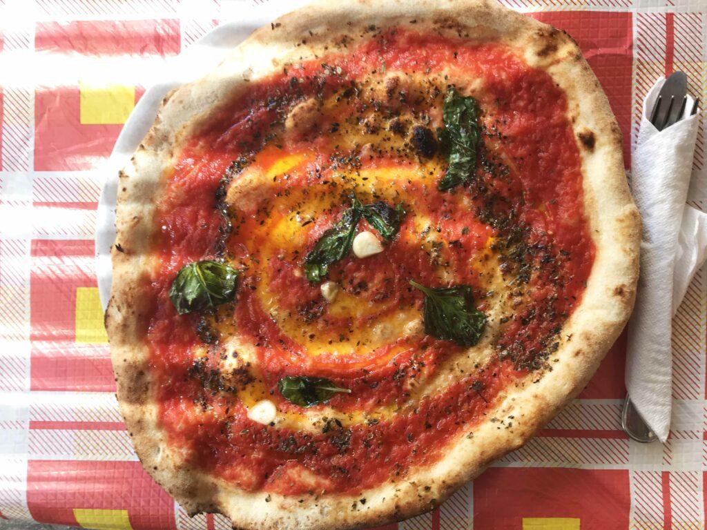 Cantina del Gallo pizza Napoli