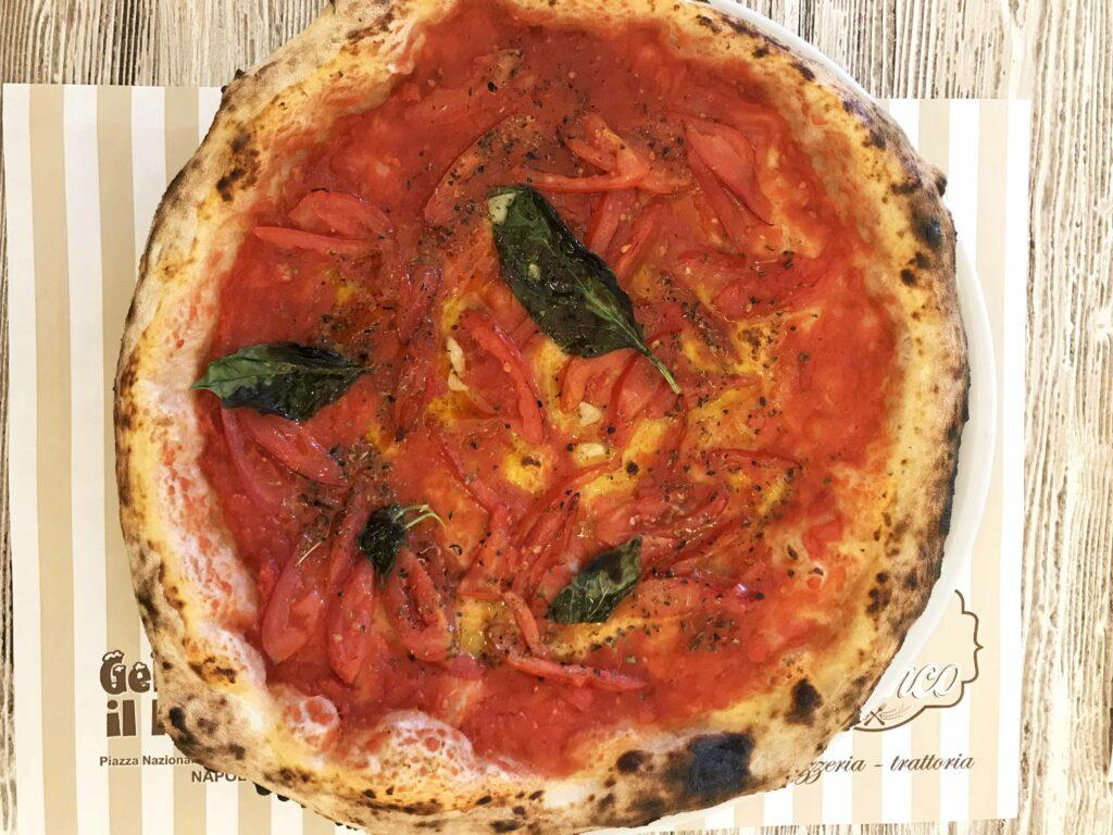 Pizza Oro Bianco Napoli