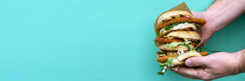 carne vegetale burger vegan